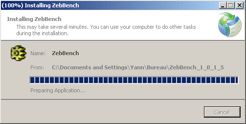 Installation du benchmark Zeb-Bench