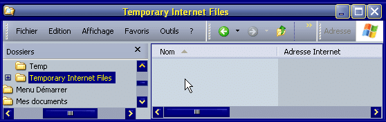 Temporary Internet Files