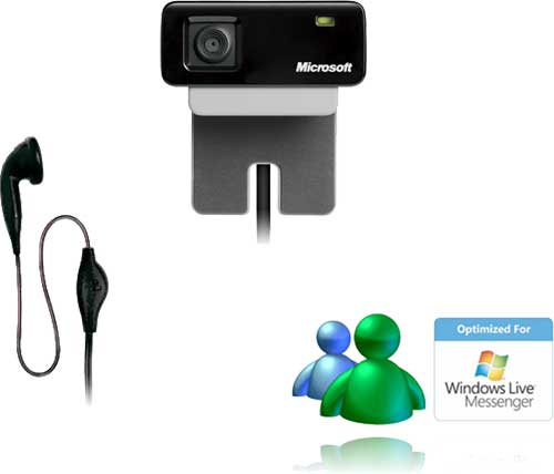 La webcam LifeCam VX-700 de Microsoft