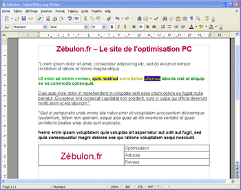 Open office la suite bureautique indispensable - Telecharger traitement de texte open office ...