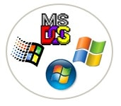 Les diff�rents logos de Windows