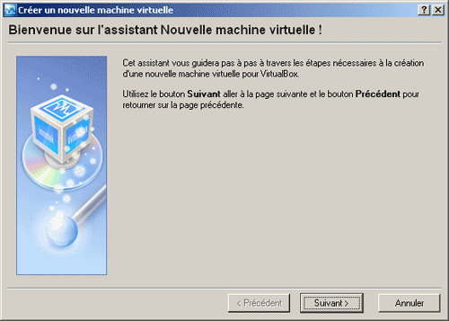 Assistant machine virtuelle