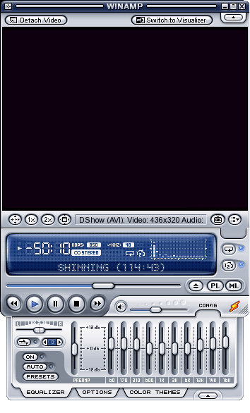 interface Winamp 5