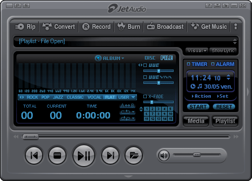 JetAudio disponible en version 7.1.1
