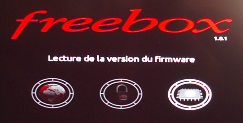 Redémarrage du Freebox Player