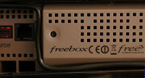 Bouton reset du Freebox Player mal plac�