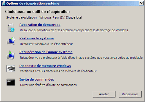 Probleme utilisation memoire windows 7