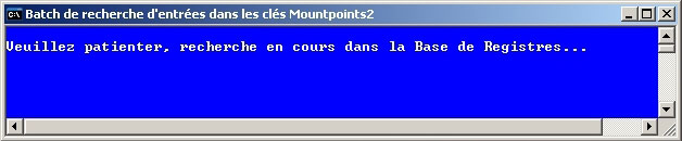 Lancement du batch Mountpoints2