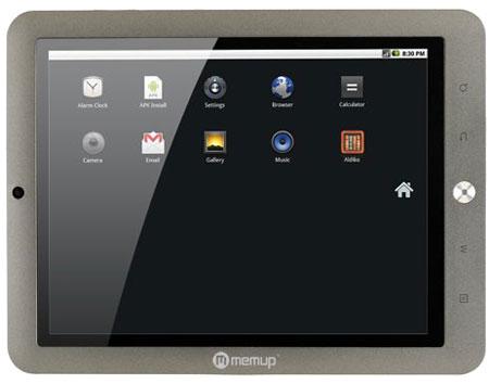 Tablette Memup Slidepad Series