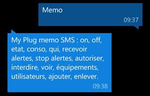 Memo : un rappel des commandes du My Plug
