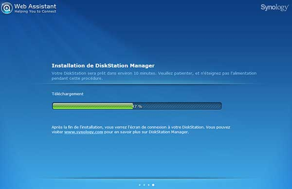 DSM : installation DiskSation Manager