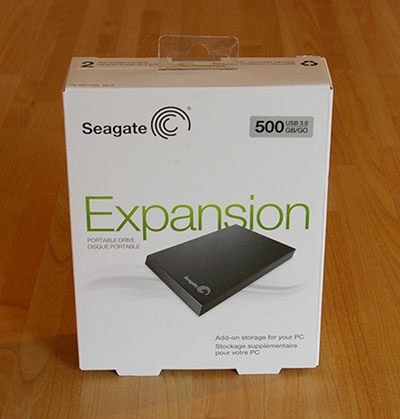 test disque dur externe usb 3 0 seagate expansion. Black Bedroom Furniture Sets. Home Design Ideas