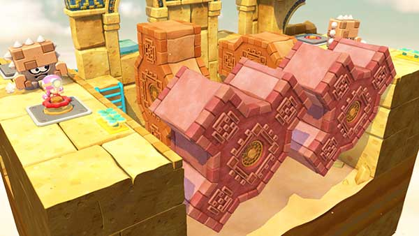 Toadette dans Captain Toad Treasure Trackers