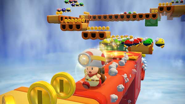 Ecran Captain Toad Treasure Trackers