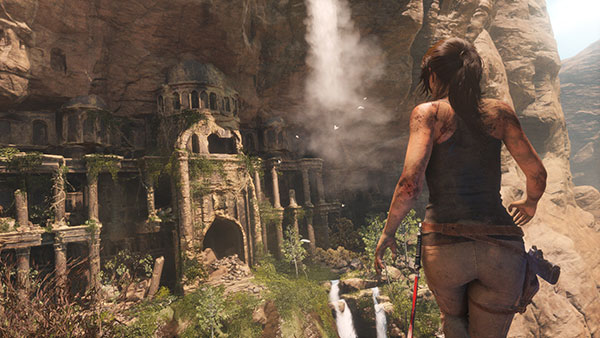 Ecran Rise of the Tomb Raider