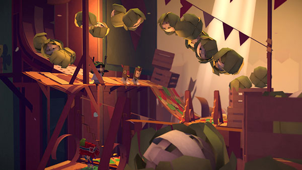 Tearaway Unfolded sur PS4