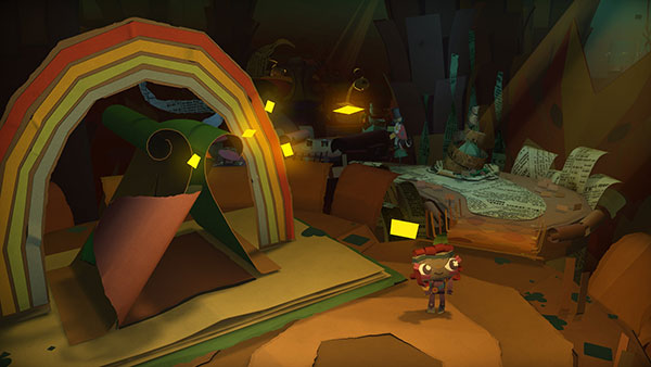 Capture Tearaway Unfolded