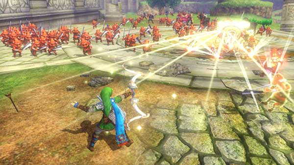 Le gameplay dans Hyrule Warriors