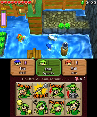 Capture The Legend of Zelda: Tri Force Heroes