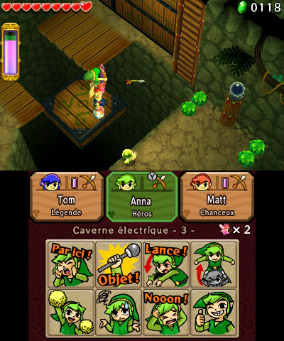 The Legend of Zelda: Tri Force Heroes sur 3DS