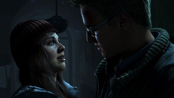 Les couples dans Until Dawn