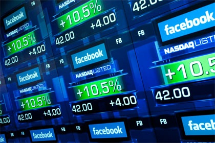 Facebook journ�e introduction bourse d�cevante