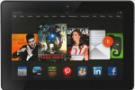 Amazon r�v�le sa tablette Kindle Fire HDX.