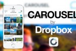 Dropbox lancement application Carousel