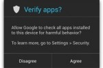 Google renforce sa s�curit� avec Verify Apps sur Android