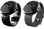 Lancement de la montre connect�e Moto 360 de Motorola en France.