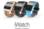 Lancement possible de la montre connect�e iWatch d'Apple, le 9 septembre.