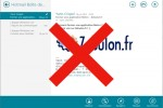 Fermer une application Metro Windows 8