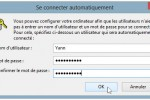 login automatique Windows 8