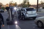 Accident d'une voiture autonome d'Uber en Arizona
