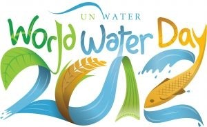 Affiche de la Journ�e mondiale de l'eau 2012 (World Water Day 2012).