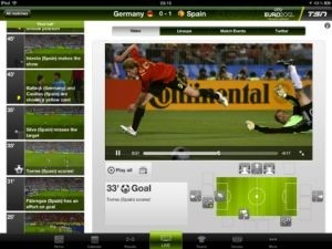 Application iPad 'TSN EURO 2012'