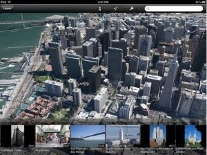 Cartes 3D sur Google Earth pour iOS