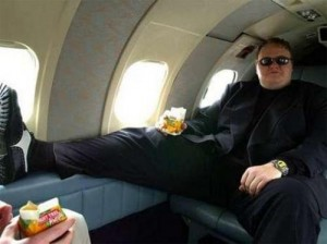 Kim Dotcom avion