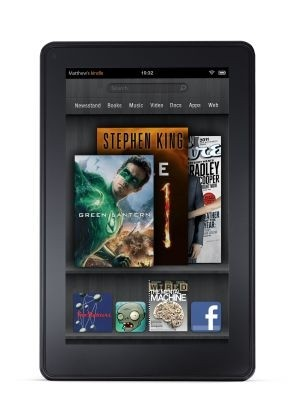 Le Kindle Fire d'Amazon est une tablette tactile low-cost d�riv�e de sa c�l�bre liseuse �lectronique.