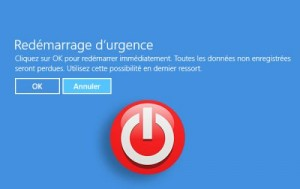 Comment red�marrer Windows plant� ?