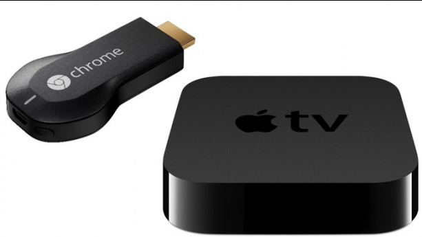 Retour de l'Apple TV et Google Chromecast