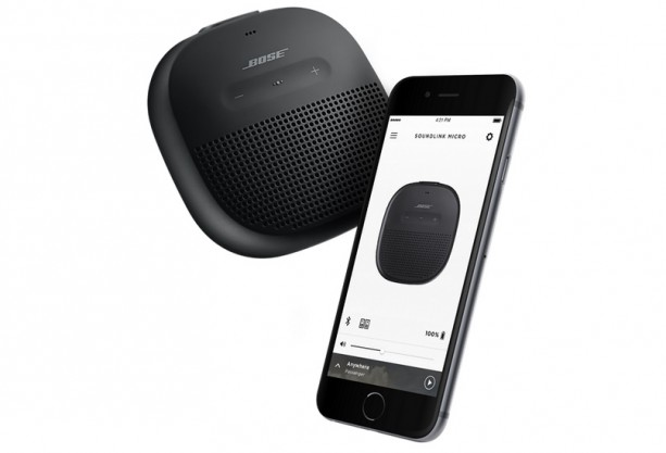 bose lance sa soundlink micro une enceinte portable tr s. Black Bedroom Furniture Sets. Home Design Ideas