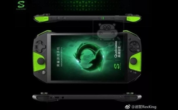 Une image officielle révélant le design du Xiaomi Black Shark