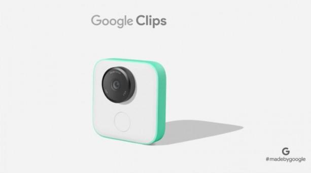 Google Clips, la nouvelle caméra signée Google