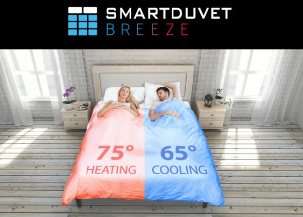 un lit qui se fait tout seul c 39 est maintenant possible avec smartduvet breeze. Black Bedroom Furniture Sets. Home Design Ideas