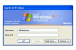 Fenêtre de login Windows XP