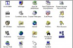 Panneau de configuration Windows 95