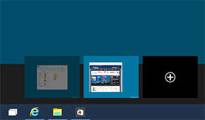 Bureau virtuel Windows 10