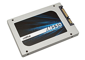 Photo SSD Crucial M550