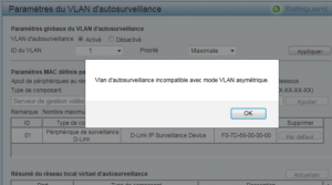 vlan incompatible